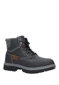 Czarne buty zimowe American Club