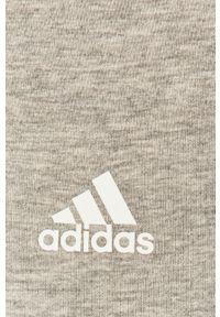 Adidas - adidas - Legginsy. Kolor: szary. Materiał: dzianina