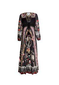 Sukienka Camilla maxi, w kwiaty