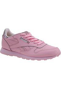 Różowe buty sportowe Reebok z cholewką