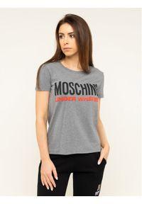 Moschino Underwear & Swim - MOSCHINO Underwear & Swim T-Shirt A1905 9003 Szary Regular Fit. Kolor: szary