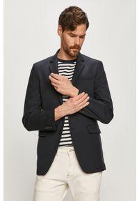 Karl Lagerfeld - Marynarka. Kolor: niebieski. Styl: klasyczny