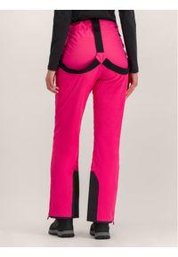 Różowe spodnie sportowe Jack Wolfskin narciarskie
