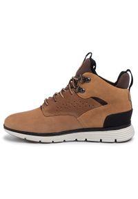 Timberland - Sneakersy TIMBERLAND - Killington Mid Hiker TB0A1JD72311 Wheat. Okazja: na uczelnię, na spacer. Kolor: brązowy. Materiał: skóra, nubuk, zamsz, materiał. Szerokość cholewki: normalna
