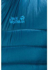 Niebieska kamizelka Jack Wolfskin bez kaptura, na co dzień, casualowa #7