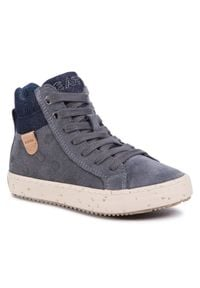 Szare buty zimowe Geox