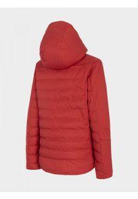 outhorn - Kurtka narciarska damska. Materiał: mesh, materiał, poliester. Sezon: zima. Sport: narciarstwo