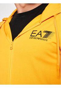 EA7 Emporio Armani Bluza 3KPM68 PJ05Z 1604 Żółty Regular Fit. Kolor: żółty