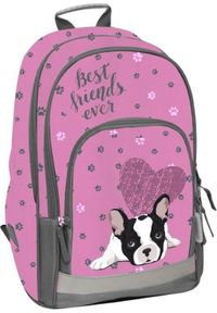 hama - Hama Plecak szkolny Pink Dog