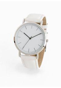 Biały zegarek bonprix wizytowy