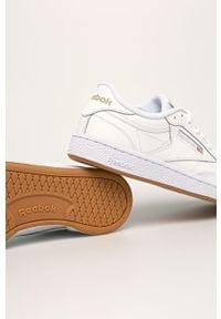 Białe buty sportowe Reebok Classic Reebok Classic, na średnim obcasie, na obcasie