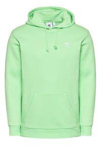 Adidas - adidas Bluza Adicolor Essentials Trefoil H34648 Zielony Regular Fit. Kolor: zielony