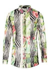 Guess Koszula Ls Clouis W1RH09 W70Q0 Kolorowy Relaxed Fit. Wzór: kolorowy
