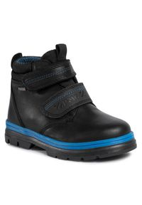 Czarne buty zimowe Primigi