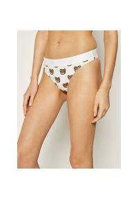 Białe majtki Moschino Underwear & Swim