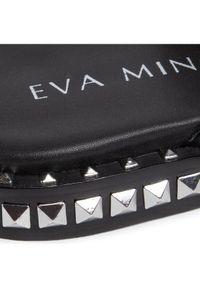 Czarne klapki Eva Minge