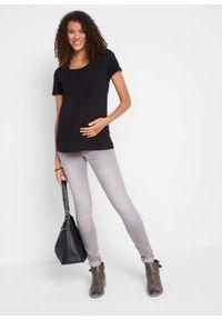 Shirt ciążowy i do karmienia (2 szt.) bonprix czarny + czarny. Kolekcja: moda ciążowa. Kolor: czarny