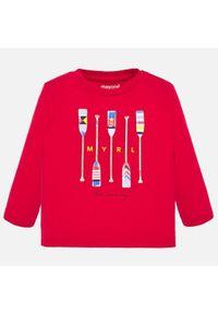 Czerwony t-shirt Mayoral