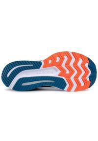 Niebieskie buty do biegania Saucony z cholewką