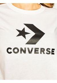 Biały t-shirt Converse