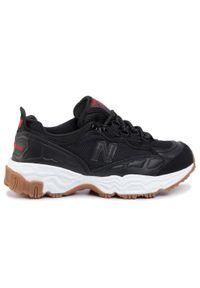 Czarne sneakersy New Balance z cholewką