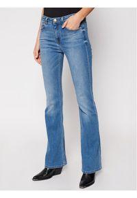 Niebieskie jeansy slim Pinko