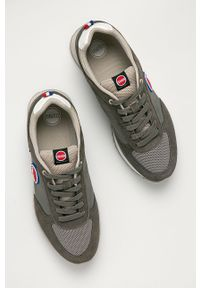 Colmar - Buty. Nosek buta: okrągły. Zapięcie: sznurówki. Kolor: szary. Materiał: guma, syntetyk, materiał, skóra ekologiczna, zamsz. Szerokość cholewki: normalna #4
