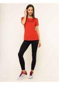 Calvin Klein Performance T-Shirt Short Sleeve 00GWS9K157 Czerwony Slim Fit. Kolor: czerwony