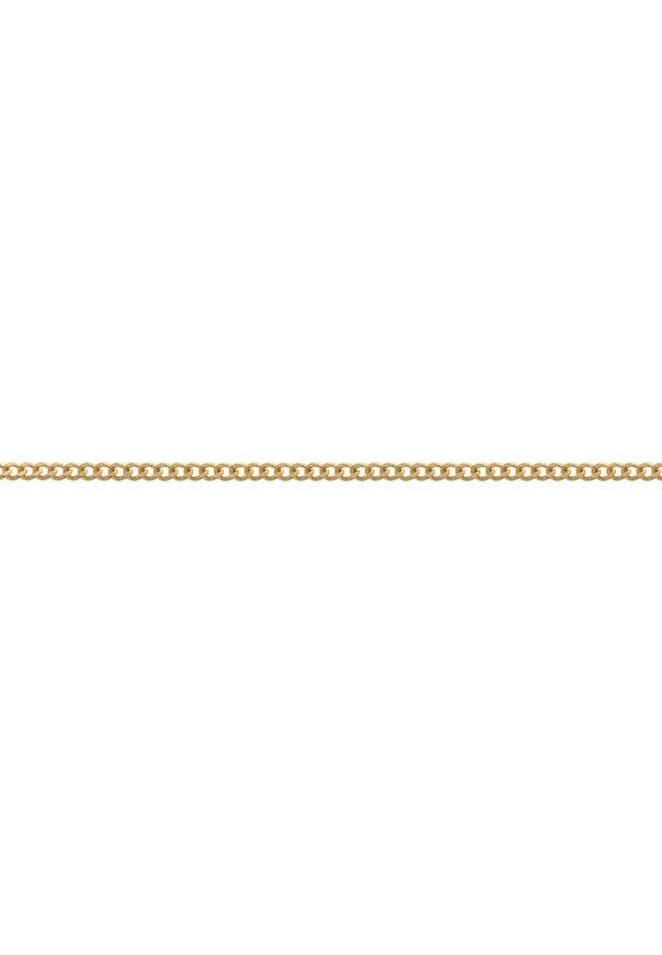 W.KRUK Złoty Łańcuszek - złoto 585 - ZSI/LP01. Materiał: złote. Kolor: złoty. Wzór: ze splotem