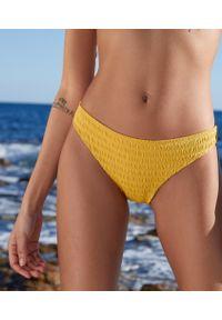 Żółty strój kąpielowy dwuczęściowy Etam
