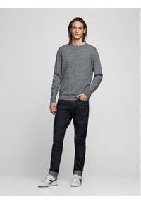 Jack & Jones - Jack&Jones Sweter Basic 12137190 Szary Regular Fit. Kolor: szary #6