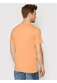 Jack & Jones - Jack&Jones T-Shirt Theme 12190623 Pomarańczowy Regular Fit. Kolor: pomarańczowy