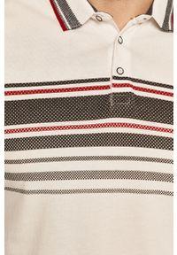 Biała koszulka polo medicine polo, krótka
