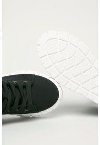 Answear Lab - Trampki Maira. Nosek buta: okrągły. Zapięcie: sznurówki. Kolor: czarny. Styl: wakacyjny