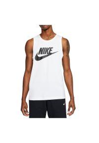 Koszulka męska Nike Sportswear Icon AR4991. Materiał: materiał, bawełna, poliester. Długość rękawa: bez rękawów