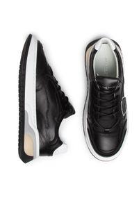 Czarne sneakersy Philippe Model z cholewką