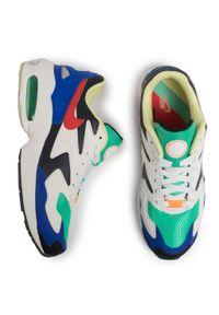 Zielone półbuty Nike z cholewką