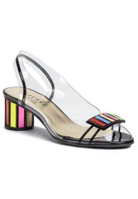 Białe sandały Azurée casualowe, z aplikacjami, na co dzień
