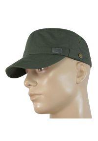 Zielona czapka Pako Jeans na wiosnę