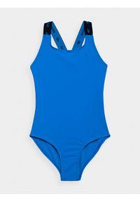 Niebieski strój jednoczęściowy 4f