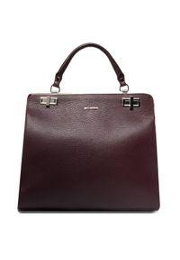 Fioletowa torebka klasyczna Gino Rossi