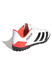 Adidas - Buty piłkarskie turfy dla dzieci adidas Predator 20.4 TF EG0933. Okazja: na imprezę. Materiał: syntetyk. Szerokość cholewki: normalna. Wzór: nadruk. Sezon: lato. Sport: piłka nożna