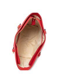 Trussardi Jeans - Trussardi Torebka Lisbona Shopper Md 75B00961 Czerwony. Kolor: czerwony