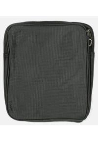 Casu - Czarna torba męska na ramię casu 815. Kolor: czarny