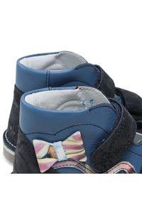 Bartek - Sandały BARTEK - 16686-995 Niebieski. Kolor: niebieski. Materiał: skóra, zamsz. Wzór: aplikacja