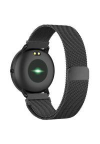 Czarny zegarek TFO smartwatch