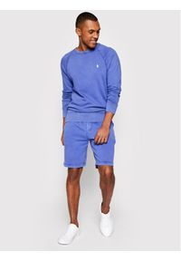 Polo Ralph Lauren Bluza Lsl 710644952030 Fioletowy Regular Fit. Typ kołnierza: polo. Kolor: fioletowy