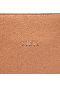 Brązowa torebka klasyczna Furla skórzana, klasyczna