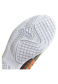 Adidas - Buty halowe dla dzieci adidas Nemeziz Messi 19.4 IN Jr EH0601. Zapięcie: sznurówki. Materiał: guma, materiał, syntetyk. Szerokość cholewki: normalna. Sport: piłka nożna