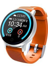 Pomarańczowy zegarek LENOVO smartwatch